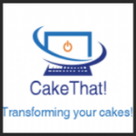 Corporate Company Logo Cake Toppers